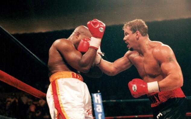 Tommy Morrison vs. Donovan Ruddock / zdroj foto: www.boxingscene.com