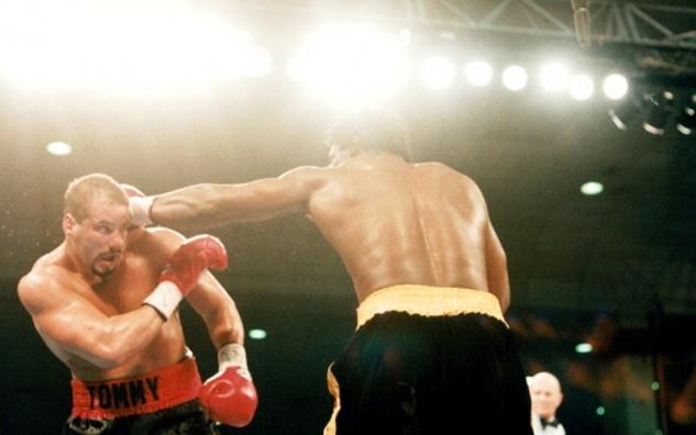 Tommy Morrison vs. Lennox Lewis / zdroj foto: www.boxingscene.com