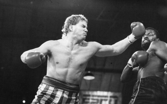 Tommy Morrison vs. Rick Enis / zdroj foto: www.boxingscene.com