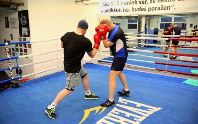 Ondřej Pála v tréninku / zdroj foto: Filip Škeřík