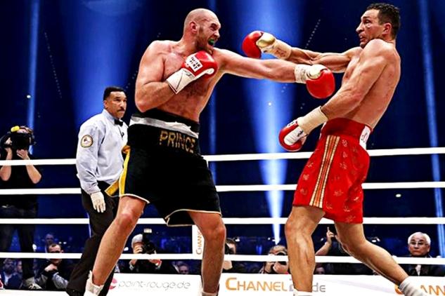 Tyson Fury vs. Vladimir Kličko
