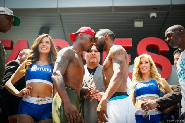 Jermell Charlo vs. Austin Trout / zdroj foto: Boxingscene.com