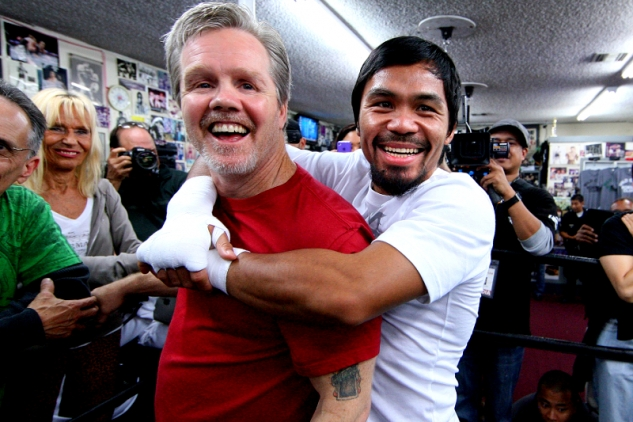 Manny Pacquiao a Freddie Roach
