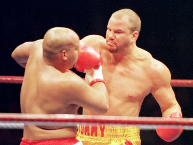 Tommy Morrison vs. Marcus Rhode / zdroj foto: www.boxingscene.com